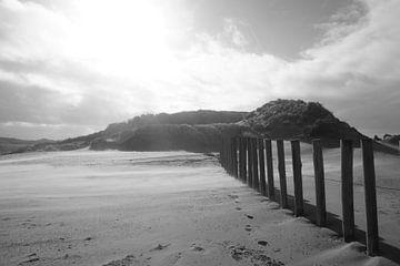 Palisade op het strand van ToeK !