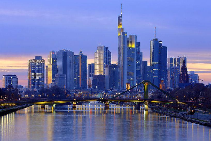 Frankfurt Skyline von Patrick Lohmüller