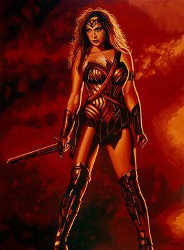 Wonder Woman Schilderij van Paul Meijering