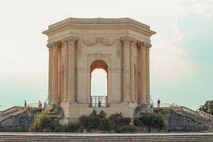 Promenade du peyrou, Montpellier, Frankrijk van