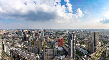 Skyline Rotterdam centrum van Midi010 Fotografie