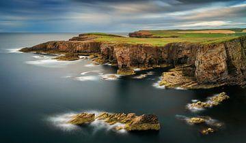 Yesnaby cliffs panorama van