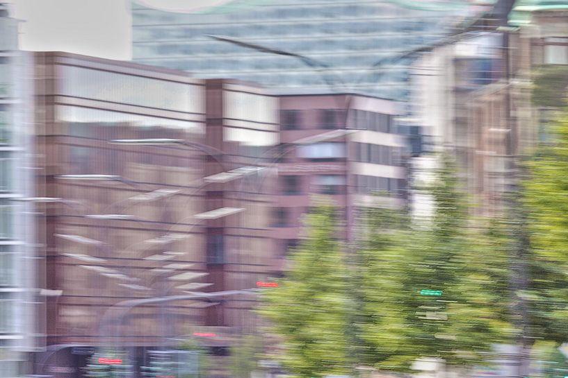 Street in Hamburg van Marc Heiligenstein