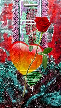 Eine Rose für die Liebe von Gertrud Scheffler