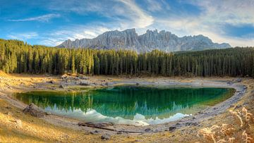 Karersee in South Tyrol sur