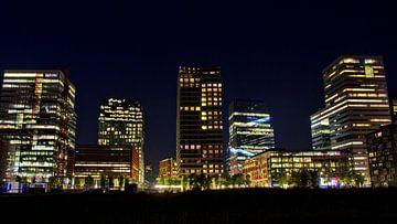 Skyline Amsterdam Zuidas von Dick Vermeij