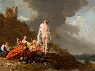 Landschaft mit Larven (und Diana?), Bartholomeus Breenbergh