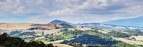 Toscane Panorama Landschap