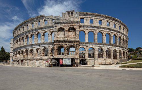 Romeinse Arena in het centrum van Pula, Kroatie