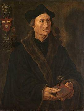 Porträt von Johannes Colmannus (1471-1538), Maarten van Heemskerck, um 1538 - um 1540.