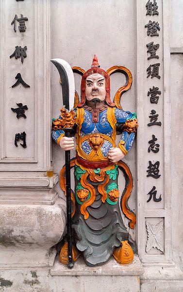 Hanoi: Bach Ma tempel van Maarten Verhees