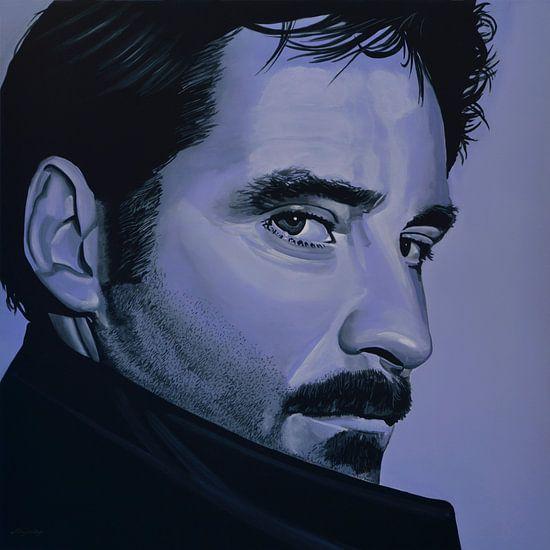 Kevin Kline Schilderij van Paul Meijering