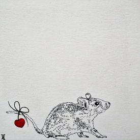 HeartFlow Muis 1 van Helma van der Zwan