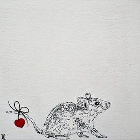 Heartflow Mouse 1 sur Helma van der Zwan