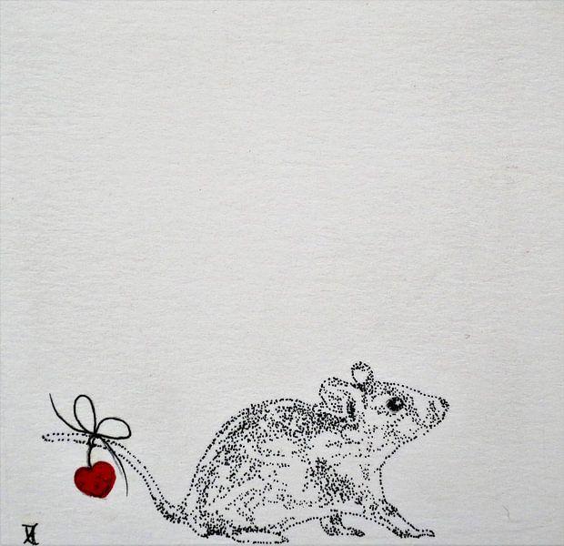Heartflow Mouse 1 von Helma van der Zwan