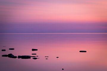 violetter Sonnenuntergang von Jeroen Verbiest