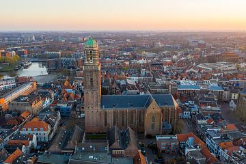 Zwolle van boven, Peperbus Zwolle centrum