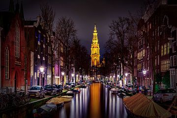 Groenburgwal Amsterdam von Michael van der Burg