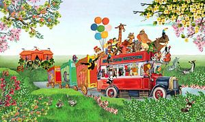Circus Parade van