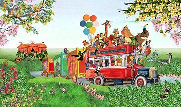 Circus Parade van Studio POPPY