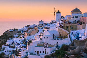 Zonsondergang Oia, Santorini, Griekenland