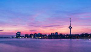 De euromast zonsondergang
