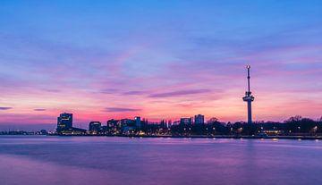 De euromast zonsondergang sur Roy Vermelis
