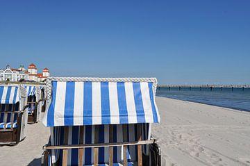 Strandkörbe in Binz, Rügen von GH Foto & Artdesign