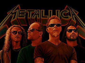 Metallica Malerei von Paul Meijering