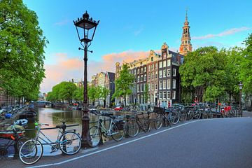 Kloveniersburgwal Amsterdam von Dennis van de Water