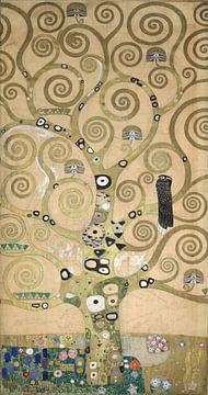 Werktekening voor de Stoclet-fries, deel 4, Gustav Klimt