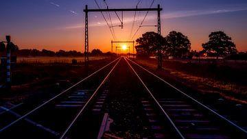 Zonsopkomst  in Apeldoorn von Rob Sprenger