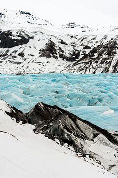 Svinafellsjokull, de mooiste gletsjertong van IJsland van Gerry van Roosmalen