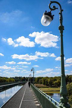 Kanalbrücke von Briare von Ingrid de Vos - Boom