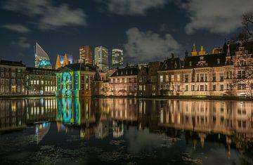 Reflet de la cour intérieure sur Marian Sintemaartensdijk