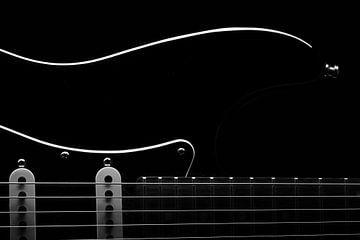 Fender Stratocaster sur Thomas van Houten