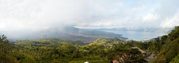 Panorama in Bali van