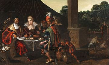 Feast of Herod, Frans Francken (II) sur