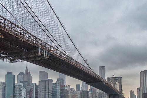 Brooklyn Bridge von Aad Clemens