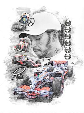 Lewis Hamilton van Theodor Decker