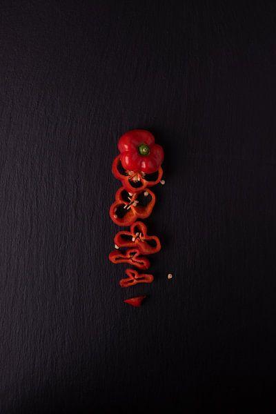 enkele peper 1 van 4 van Anita Visschers