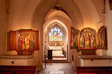 Diem Monasterium interiorem van Michael Nägele