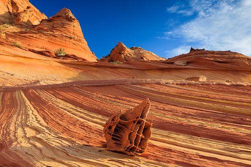 The Bone Yard in the North Coyote Buttes, Arizona van Henk Meijer Photography