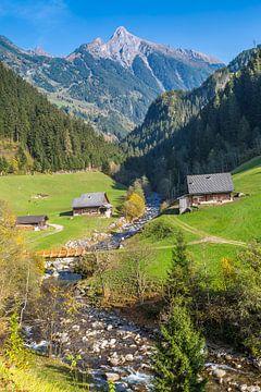 Idyllisch Alpine landschap van Peter Leenen
