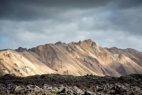 IJslands binnenland Landmannalaugur van