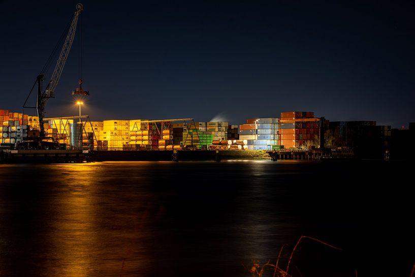 Rotterdamer Industrie 6 von Olga Drop