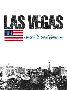 Las Vegas Amérique sur Printed Artings
