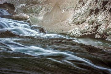 Rivière gelée sur Peter Poppe