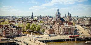 Amsterdam skyline van