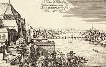 Matthäus Merian, kopergravure vand Bazel rond 1648 van Atelier Liesjes